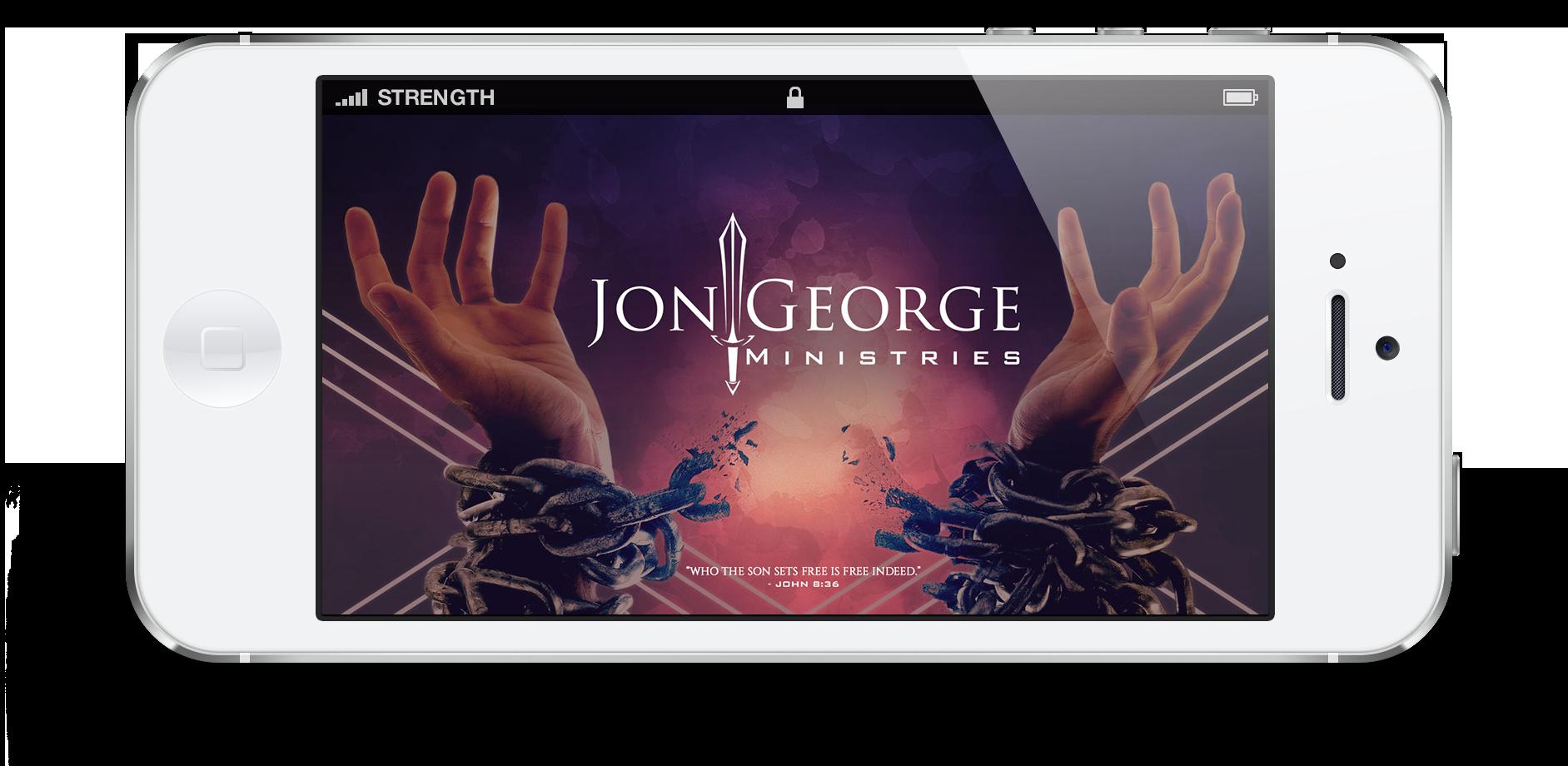 Jon George Ministries Mobile App